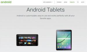 โละเงียบๆ 'Google' ลบส่วน 'Tablet' ออกจากเว็บไซต์แล้ว